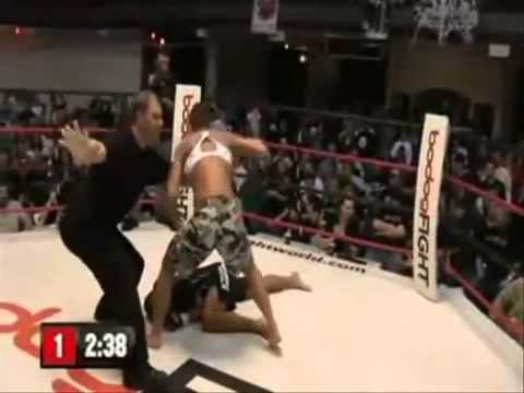 Crazy WOMENS MMA Knock Outs