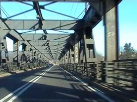 Sesto Calende  IL PONTE di ferro sul Ticino