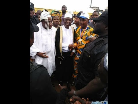 Alhaji Muyideen Bello Prayer @ Sunday Igboho Babalaje Coronation Plz Subscribe