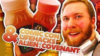 Ich hab die Comic Con Hannover besucht und Lifehacks gemacht Video