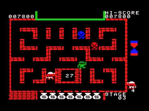 Alibaba and 40 Thieves (1984, MSX, ICM)