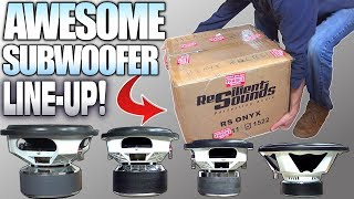 Entry Level & EXTRA LARGE Subwoofers w/ Resilient Sounds Car Audio Subwoofer Review    10