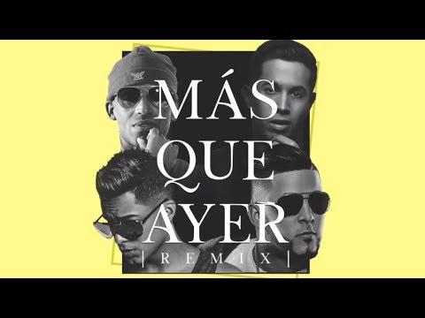 Letra Más Que Ayer (Remix) Arcangel Ft De La Ghetto, RKM y Ken-Y