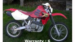8. 2005 Honda XR 650R - Features and Walkaround