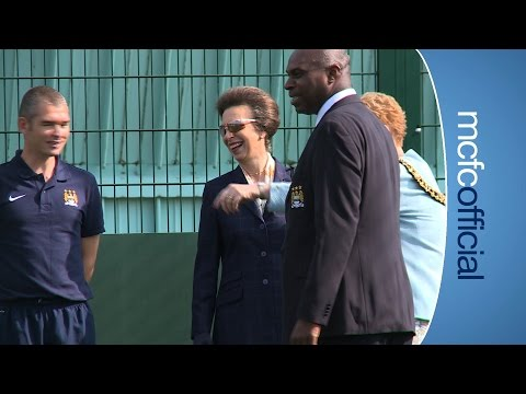 Video: HRH PRINCESS ANNE VISITS CITC | Royal Visitor is all smiles on her visit