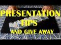 Card Tricks | Dyslexic Queens | Presentation Tips| Give Away