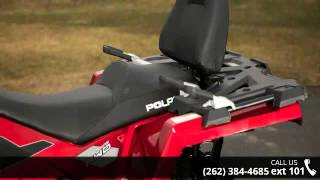 6. 2015 Polaris Sportsman Touring 570 SP EPS Sunset Red  - A...