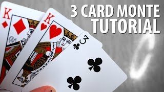 Learn the infamous Three Card Monte scam, the one performed often in Las Vegas, New York, and Los Angeles. Subscribe! http://www.youtube.com/user/howtodistur...