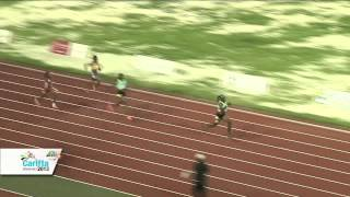 CARIFTA 2013 - 4x100m U20 Girls Final