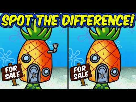 Spot the Difference Brain Games | Under the Sea Photo Puzzles for Kids