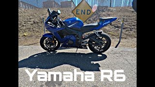 6. 03 Yamaha R6 / My new bike