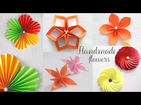 Paper folding flowers video flowers healthy 5 easy paper flowers diy videos paper folding 6 easy paper flowers paper folding diy craft 5 41 mb wallpaper mightylinksfo