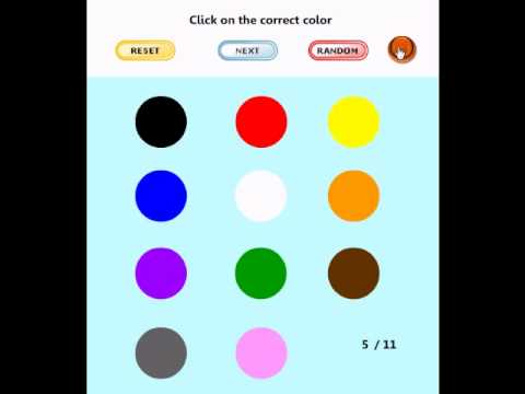 Learning Game for Kids – Find the Color