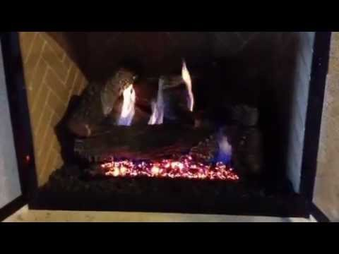 This is the most realistic vent free gas logs on the market today.