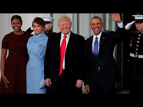 Το δώρο της Μελάνια Τραμπ στην Μισέλ Ομπάμα