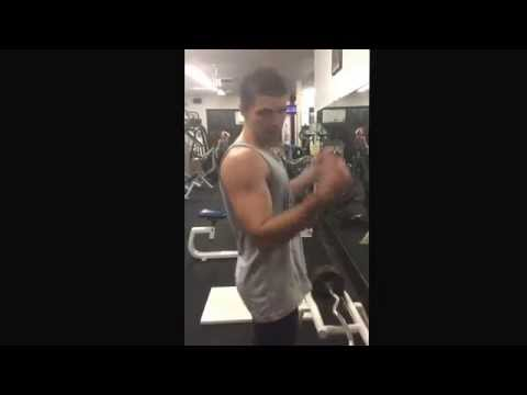 Exercise - Demonstration of the Kipping Curl, a great arm exercise with a lot of full body benefit also. It provides great power production and core work, it will help with explosivity and huge gains...