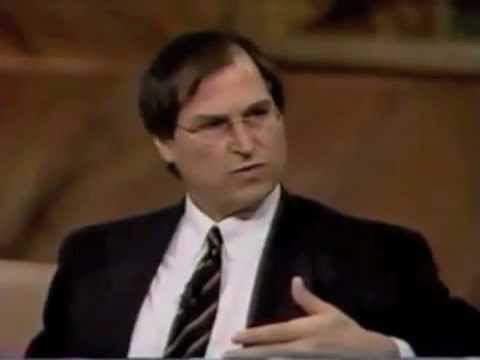 Jobs - Rare 1996 interview with Steve Jobs on Wall $treet Week with Louis Rukeyser.