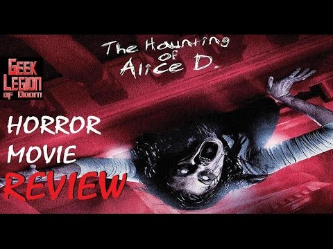 THE HAUNTING OF ALICE D ( 2014 Kane Hodder ) aka TAINTED Horror Movie Review