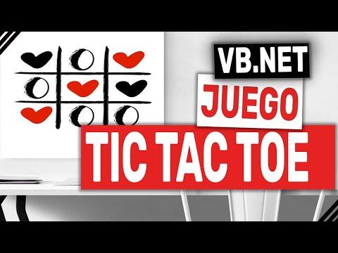 Programacion Visual Basic. Como Crear El juego Tic Tac Toe