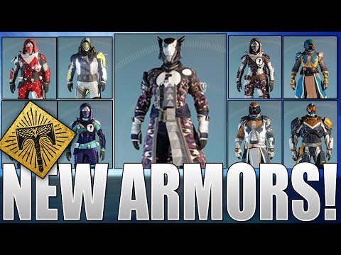 Destiny Rise Of Iron: New Armors - Dead Orbit, FWC, New Monarchy, Vanguard & Crucible Armors & More!