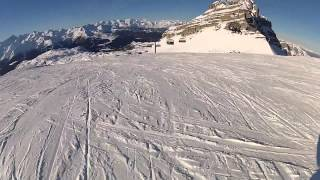 Madonna di Campiglio Italy  city photo : Skiing in Madonna di Campiglio, Italy.