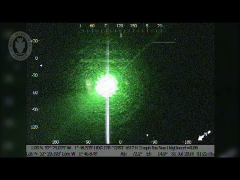 Police track down and arrest someone shining a laser at their helicopter