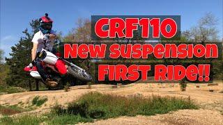 10. CRF110 PITBIKE MODS FIRST RIDE NICK GENNUSA