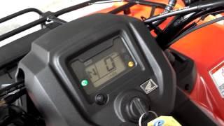10. 2014 Rancher AT   Power Steering SALE   Honda of Chattanooga TN ATV Dealer   Orange 2014 TRX420FA2E