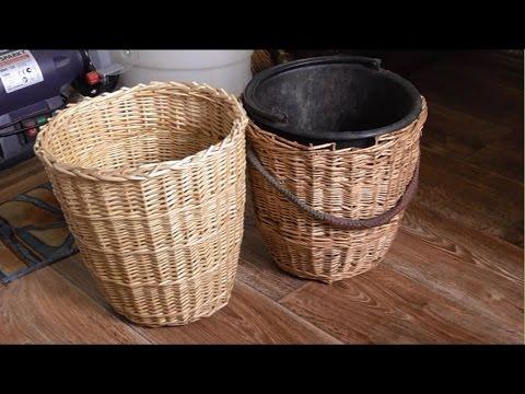 Плетение корзины - DomaVideo.Ru