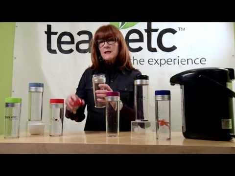 Tea Traveler® - Simple On-the-Go Loose Leaf Tea Brewer