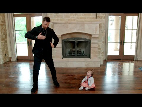 The Miz shows Monroe how to Dance Like A Dad