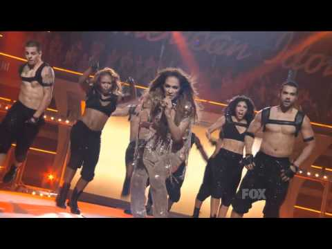 Jennifer Lopez Ft. Pitbull – Live On The Floor American Idol HD