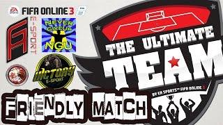 Fifa Online 3 Club Friendly Tournament #1, fifa online 3, fo3, video fifa online 3