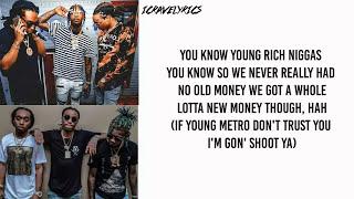 Migos - Bad and Boujee Ft. Lil Uzi Vert (Lyrics)
