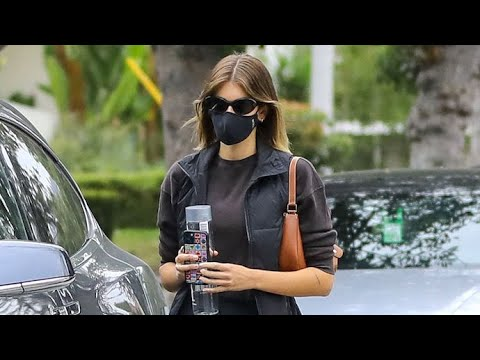 Kaia Gerber Wraps Up Her Pilates Session In Beverly Hills