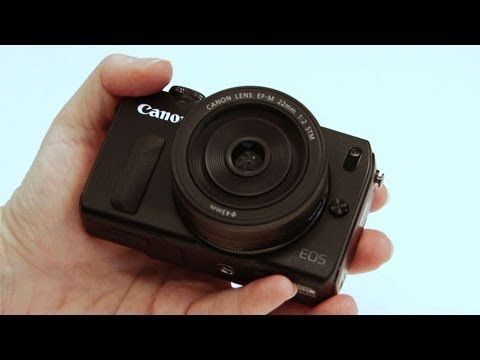 Canon EOS M Mirrorless Camera Hands on First Look