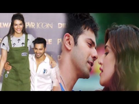 Varun Dhawan Says Kriti Sanon Is HOT!