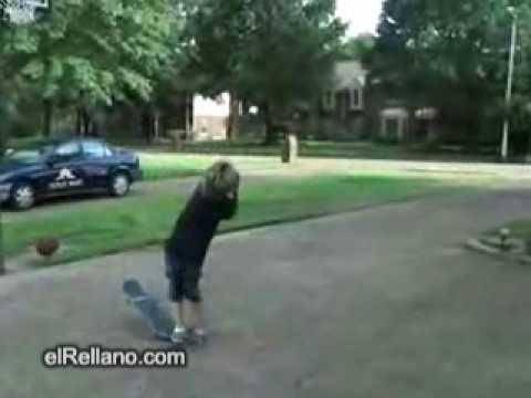Encestando con el Skate