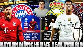 BAYERN MÜNCHEN vs REAL MADRID! 🔥⛔️ FIFA 17: ULTIMATE TEAM - CHAMPIONS LEAGUE SQUAD BUILDER!