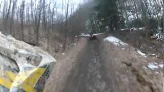 6. Renegade 500 trailing a Rancher 420 and Moving Fast