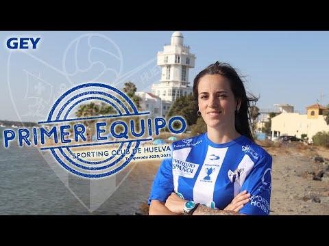 La isleña Cristina Gey Rondón, sube al primer equipo del Sporting Huelva