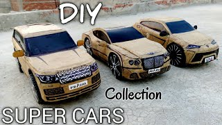 how to make DIY cars  RANGE ROVER VS LAMBORGHINI URUS VS BENTLEY CONTINENTAL GT