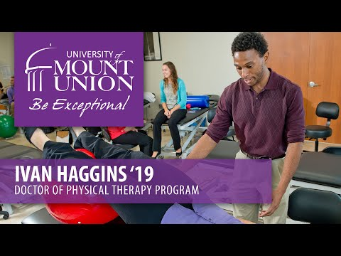 Ivan Haggins '19 - Doctorate of Physical Therapy Program