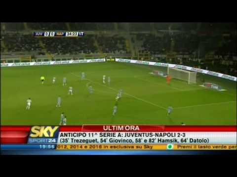 La dernière victoire du Napoli chez la Juventus
