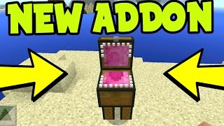 "NEW MCPE ADDON! "" CHEST BOSS MOB "" ADDON and BEHAVIOR PACK! Chest Mob - Minecraft Pocket Edition"