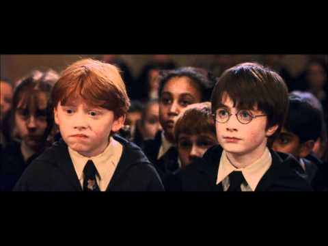 Harry Potter and the Philosopher's Stone - the first look at Hogwarts (HD)