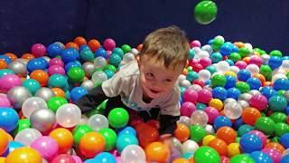BAD BABY PLAYS w/ POOP DIAPER!  No Doodie in BALL PIT SHAWN! (FUNnel Vision House Flood Pt 2 Update)