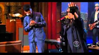 NELLY FURTADO & K'NAAN @ The David Letterman Show