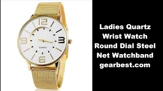 I have bought  Ladies Quartz Wrist Watch Round Dial Steel Net Watchband from gearbest.com Hope you like it and buy it yourself.http://www.gearbest.com/women-s-watches/pp_113988.html