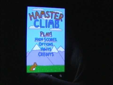 Video of Hamster Climb
